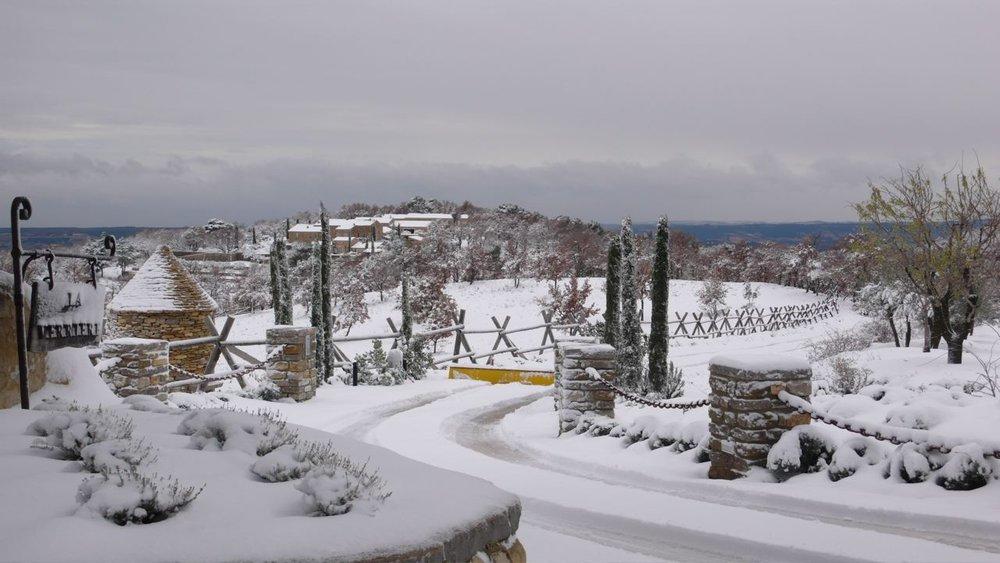La Verriere Snow