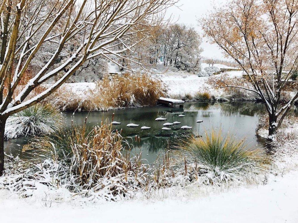 La Verriere winter