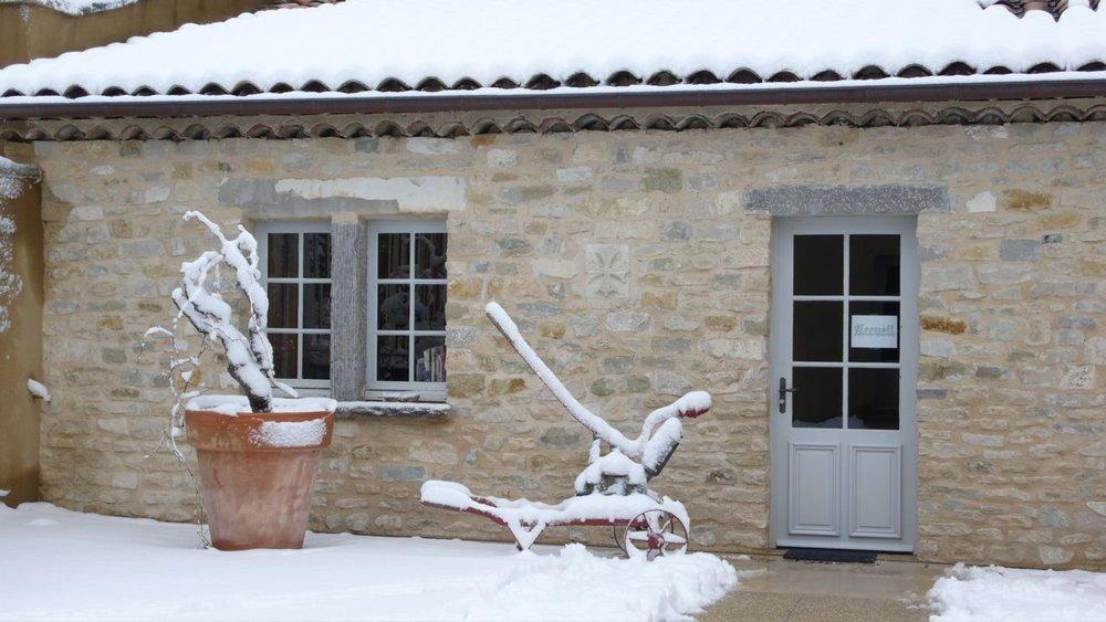 La Verriere in snow