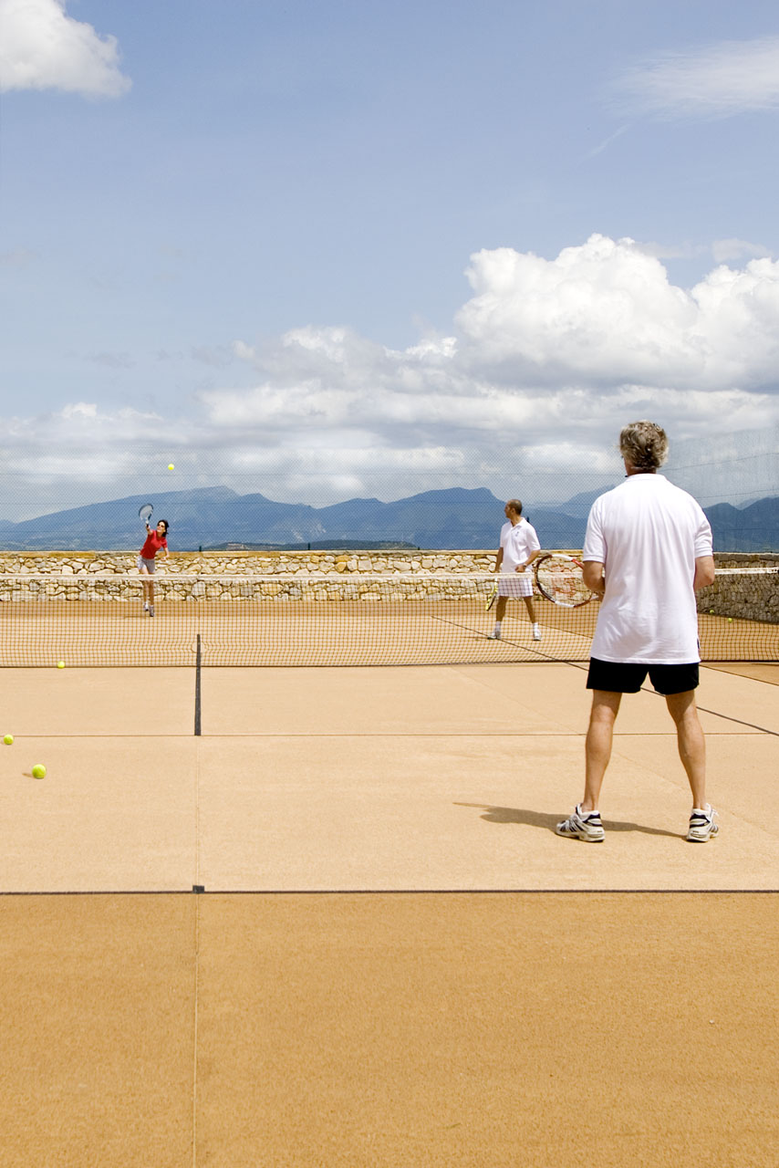 La Verriere tennis court