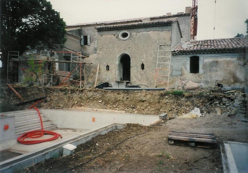 La Verriere building works