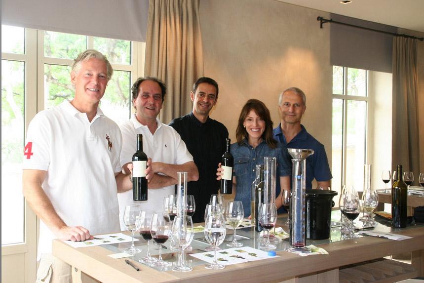 La Verriere Chene Bleu wine tasting