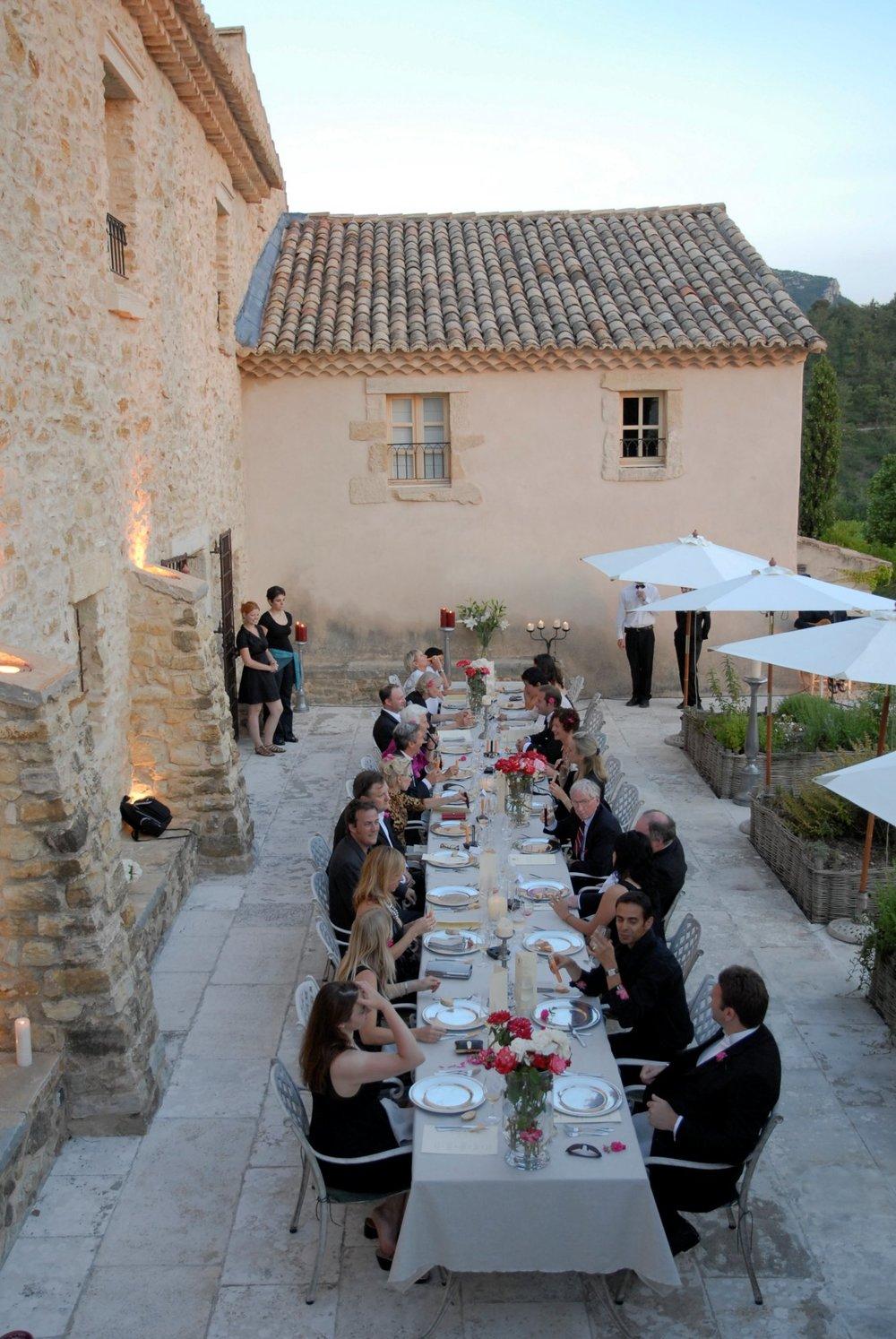 La Verriere corporate dinner