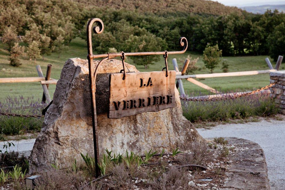 La Verriere sign