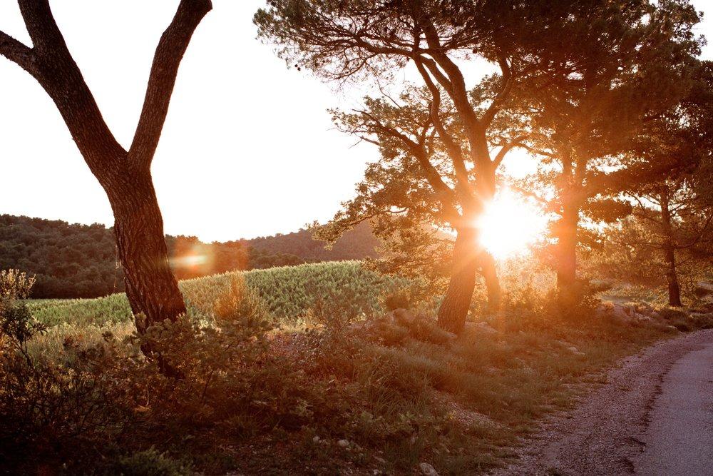 La Verriere sunset