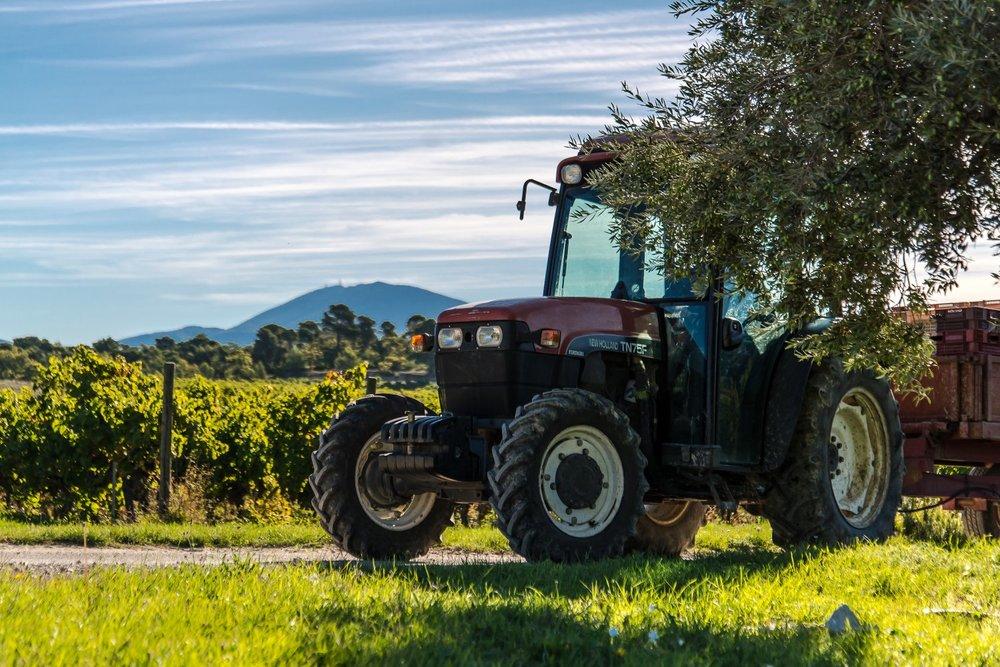 La Verriere tractor
