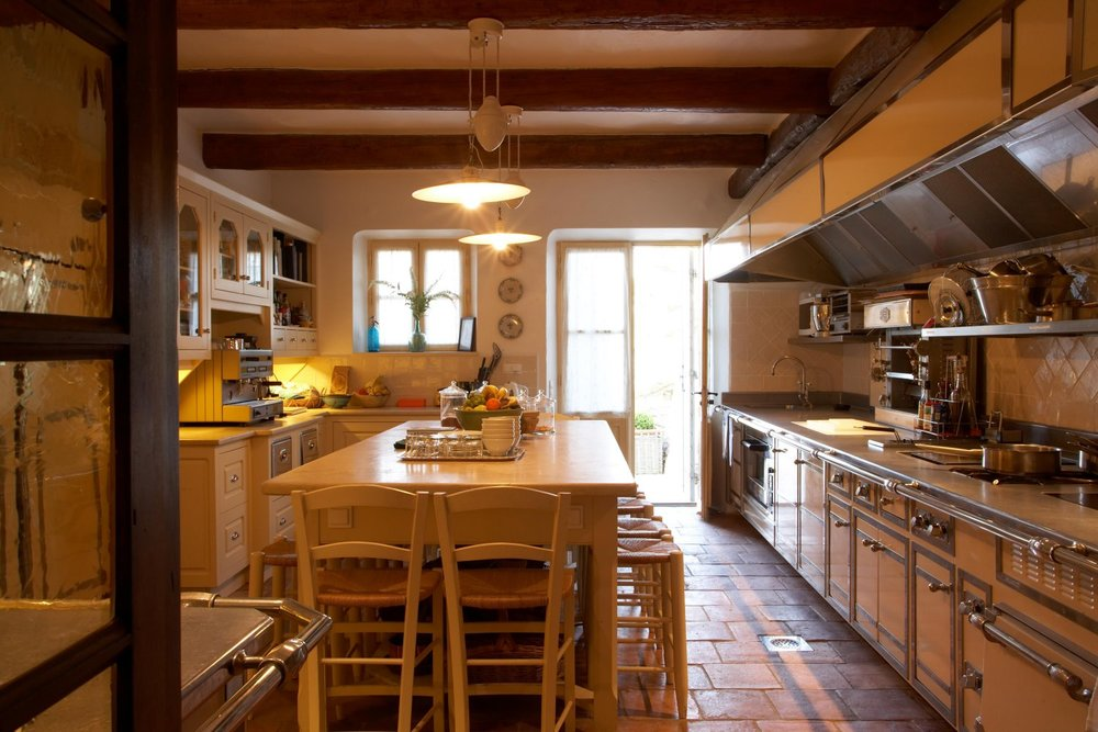 La Verriere kitchen