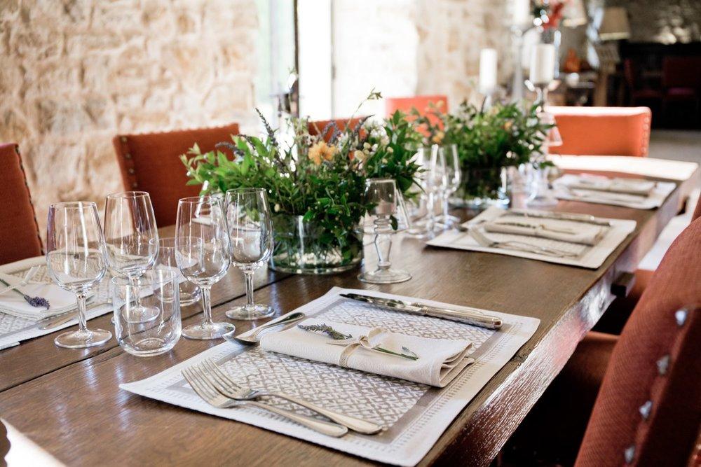 La Verriere dining