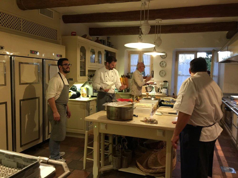 La Verriere kitchen