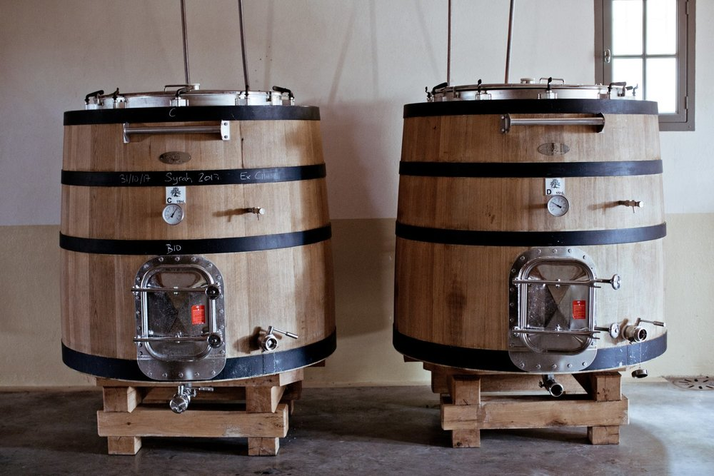 La Verriere Chene Bleu winemaking