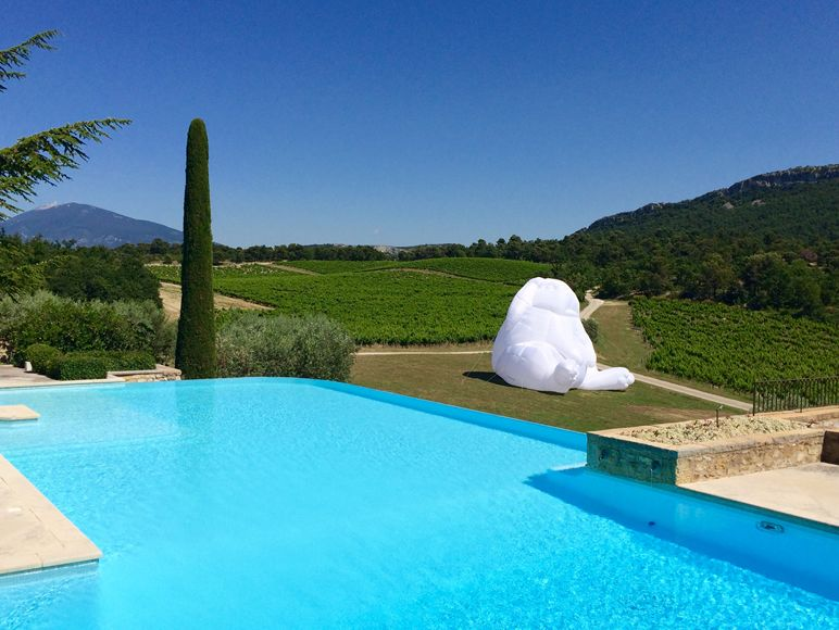 La Verriere infinity pool