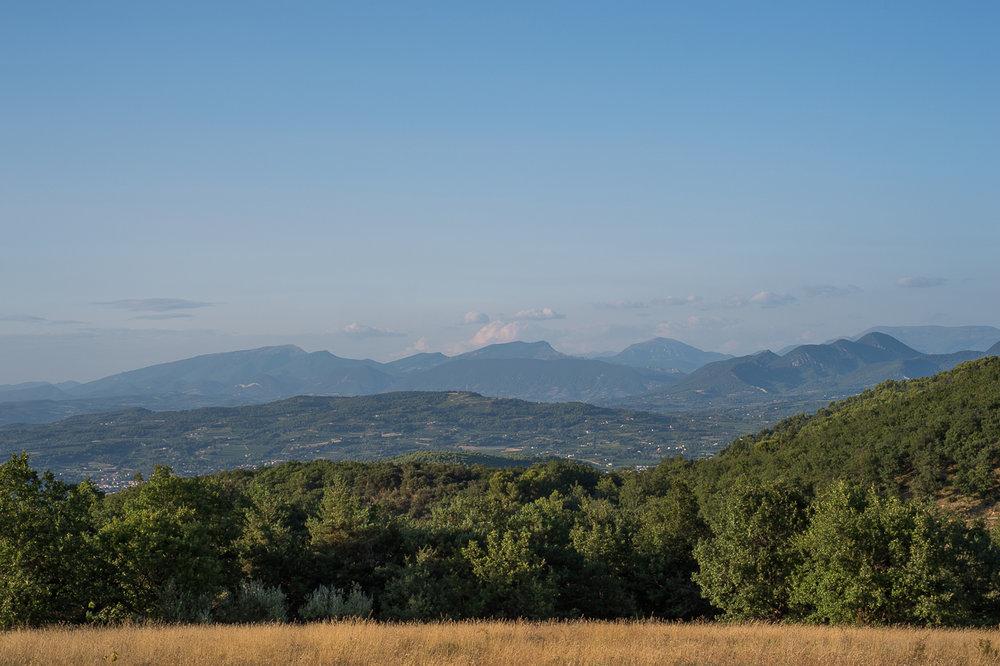 La Verriere view