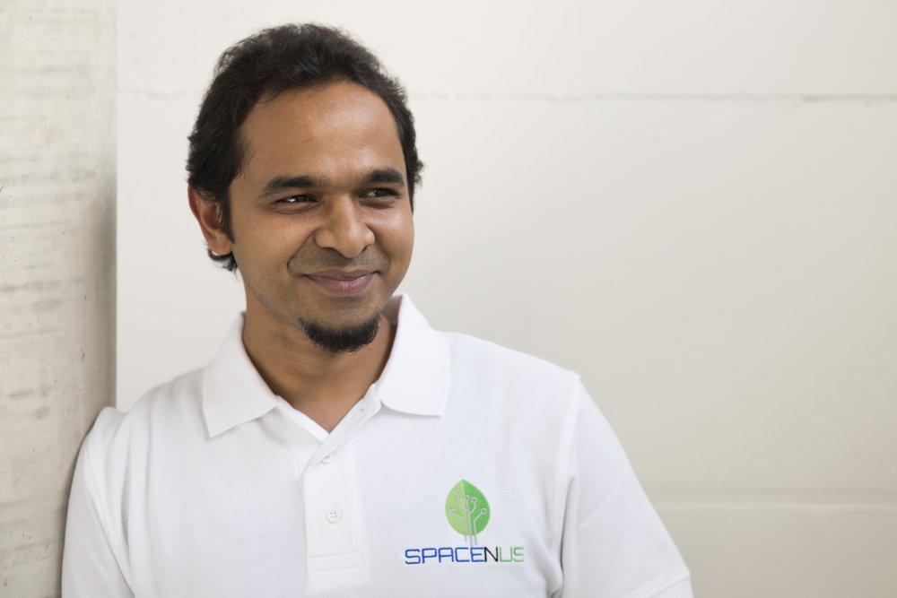 Riazuddin Kawsar - Chief Executive Officer (Source: Spacenus GmbH)