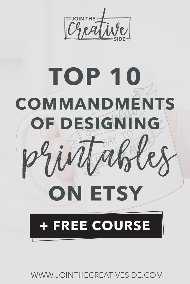 Top 10 printable design mistakes you need to avoid on Etsy