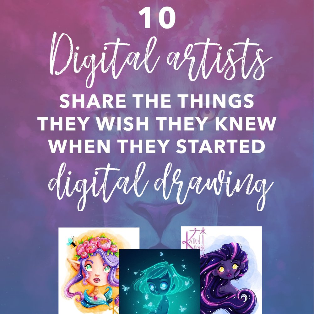 i want to know more about digital art - Want to develop yourself and your artwork? My blog posts are a goldmine for digital artists like you!