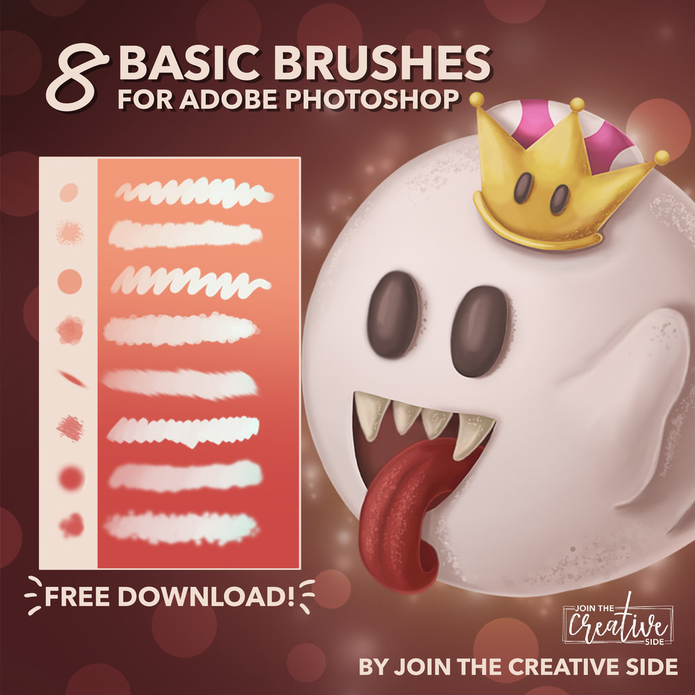 i need some brushes to get started drawing - I have a free brush pack for you! These are the only brushes you need for creating a digital painting