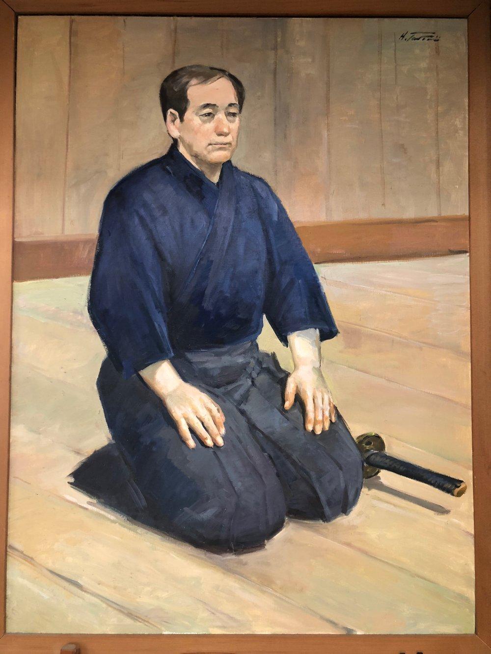 Painted by Hironori Taniai.