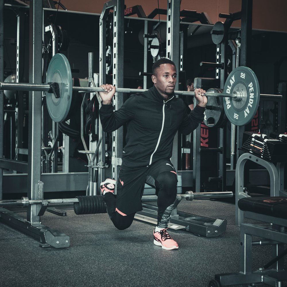 3. Squat - A great lift that strengthens your core, posture and burns a ton of fat.