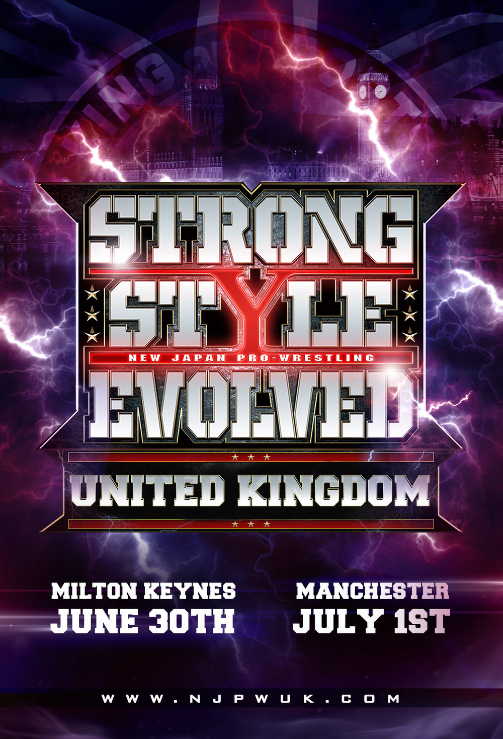 UK GET READY FOR 2 HUGE NIGHTS OF ACTION!   - The best wrestlers in the world are coming to the UK this Summer as on Saturday June 30th & Sunday July 1st in association with Revolution Pro Wrestling, New Japan Pro Wrestling present STRONG STYLE EVOLVED UK. Tickets on general sale THIS MONDAY 9am... just click on the tickets tab at the top of the page. Good luck getting the seats you want!