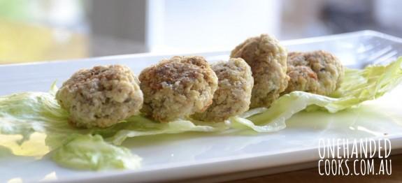 Quinoa, Chicken & Broccoli Nuggets