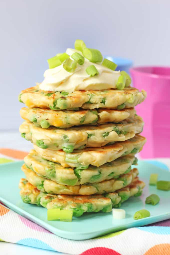 Pea & Sweet Corn Fritters