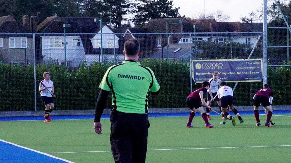 Hockey umpire and Umpire Coach