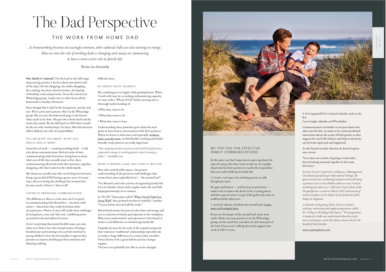 Inspiring Dads - Family Communications