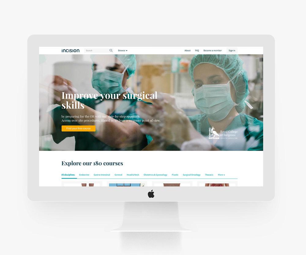 website-mockup-incision-academy-marketing-schmarketing