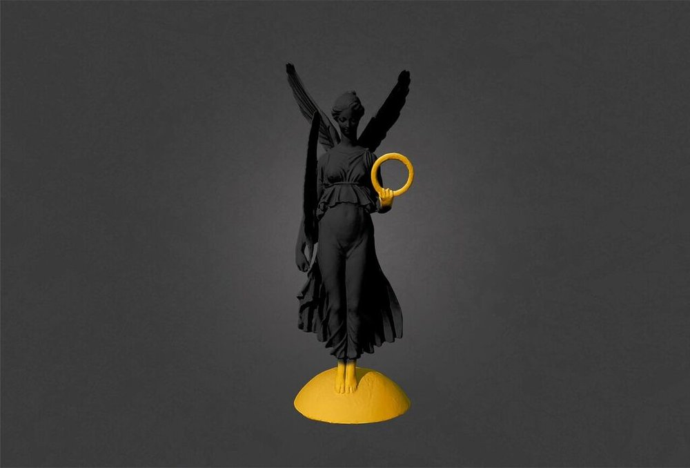 Wreath & Feather (Black,Gold) digital sketch-Joseph Malfettone_preview.jpeg