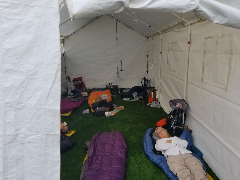 My tent for 2 nights
