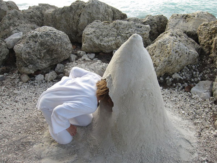 "Viewer/participant ""putting her head in the sand"""