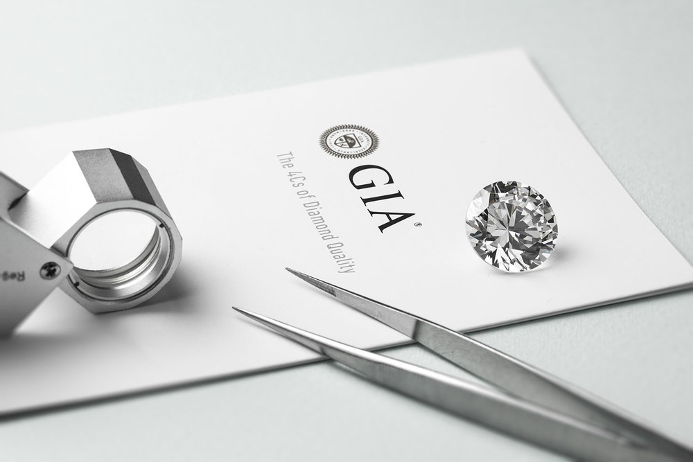 gemological institute ofAmerica - Mark A Linley Goldsmith diamonds are independently certified by the GIA. This laboratory is the most respected in the industry and has been at the forefront of unbiased diamond evaluation since 1931, giving them greater value. Each diamond comes with its corresponding GIA certificate reporting its specific characteristics, giving you total peace of mind.