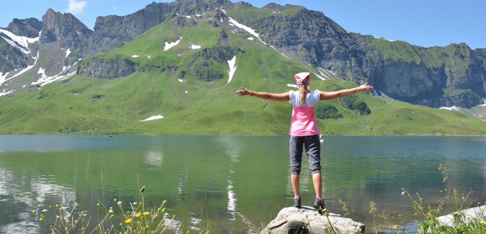 Swiss Alps…the more you embrace nature and feel present and connected… the more the inner power in you breaks the limitations…the more you expand and thrive…happiness is a choice