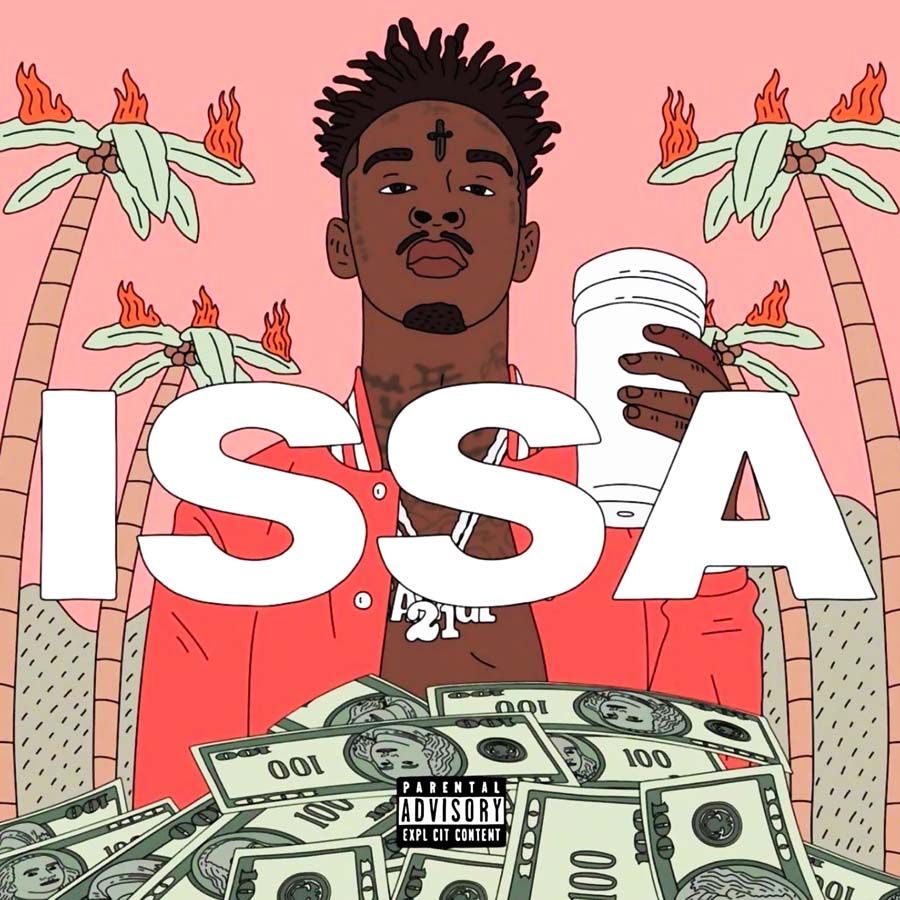 ZP152-21-Savage-Issa-First-Solo-2017-Hip-Hop-Cover-Art-Poster-Silk-Light-Canvas-Painting copy.jpg