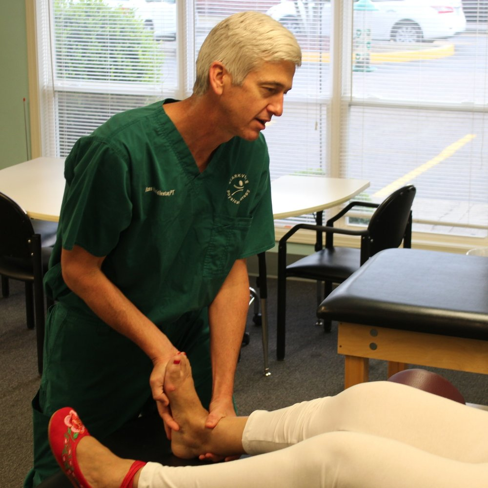 ORTHOPEDICS & POST-OP THERAPY - Our therapists have over 50 years experience of treating orthopedic issues, whether sports injuries or post-operative rehab, which we treat on a regular basis.  Typical surgeries include (but not limited to) total knee or hip replacements, rotator cuff repairs, and ACL repairs.  Our therapists have experience not only from outpatient but from home health, acute care, and skilled nursing facilities.  We design individualized programs to promote healing, restore motion, strength, and regain full functional goals for each patient.