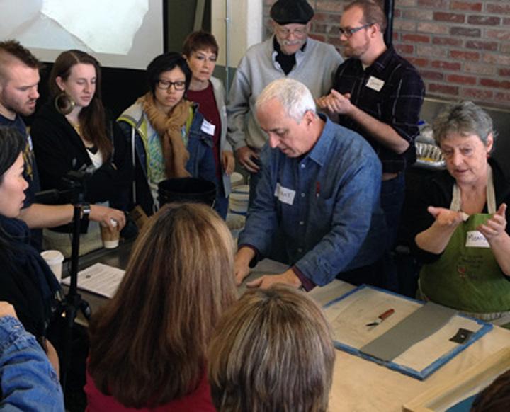 2013 Vincent and Monique Buffile workshop.jpg
