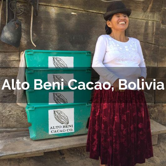 Alto Beni Cacao, Bolivia - 2017 Harvest