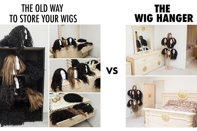 Christmas present alert! 🚨 With the Wig Hanger you can store all your wigs in one place conveniently, in your bedroom or closet etc. Leave those styrofoam heads alone 🙃 and keep your wigs styles in tact and neat! The Wig Hanger includes all 7 mannequin heads and poles with easy assembly‼️ Link in bio, and we ship fast!! ✨✨✨❤️❤️❤️ @thewighanger @thewighanger @thewighanger  #Wigs #LaceWigs #FrontLaceWigs #WigHanger #Love #PhotoOfTheDay #Follow #Wigs #FullLaceWig #HumanHair #boldholdlacetape #boldholdextremecream #lacefrontal #transparentlace #lacewigs #icfantasia #icfantasiahaircare #wahl #london #londonhairstylist #wembley #wembleystadium #bundles #virginhairvendor #conair #peruvianhair #frontalwigs #lacefrontal