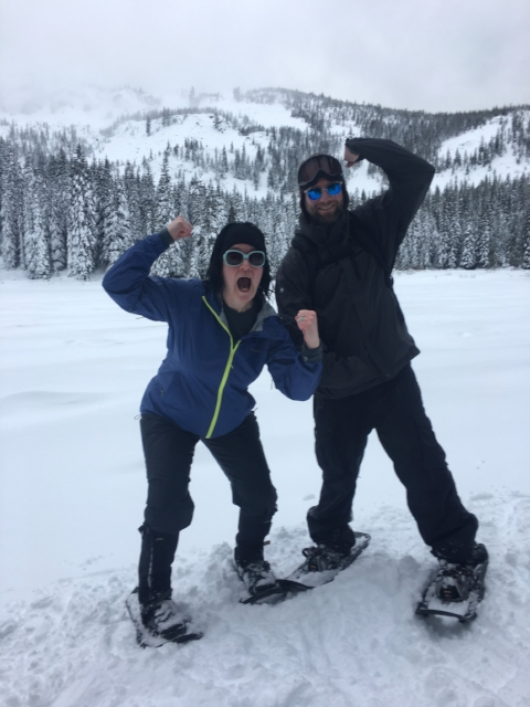 Snowshoe on a REAL mountain? - One bike ride led to an adventure on Mt. Hood in Oregon. Where could one bike ride lead you?