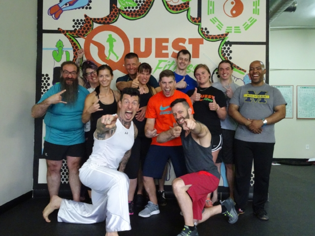 The Danny Kavadlo Experience at Quest Fitness * FIRST ANNUAL * 2018 at Quest Fitness! Photo by Ray Shonk, 2018.