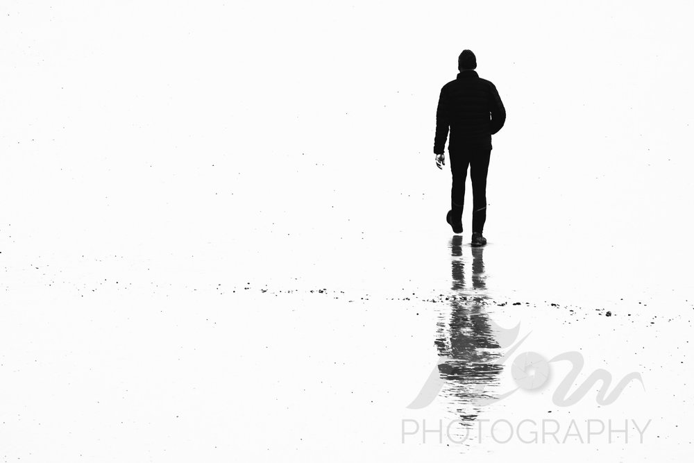 Into The Unknown   Where all adventures begin. More low tide reflections on the south coast.