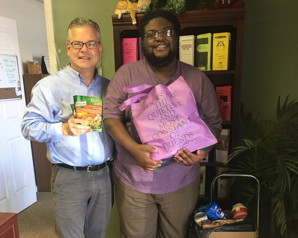 Many thanks to First Presbyterian Church/First Presbyterian Deutsch for the donation of non-perishable food items. We greatly appreciate it!