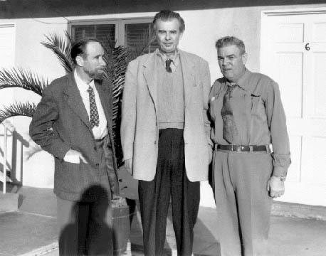 Gerald Heard, Aldous Huxley and Capt. Al Hubbard