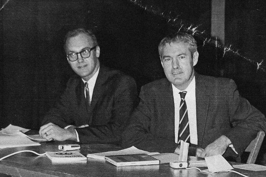 Leary and Alpert