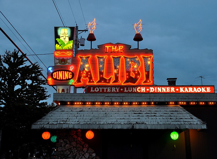 The Alibi - a Portland Institution, that gave birth to Fight Club.