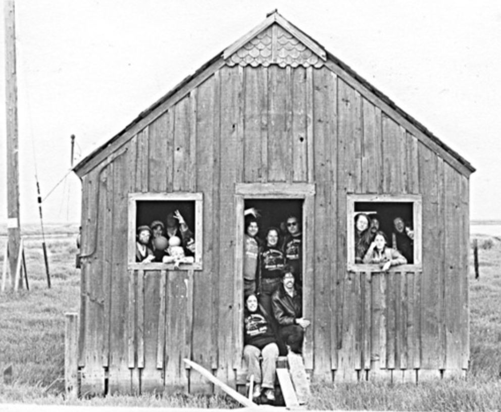 The Suicide Club, in a Ghost Town in 1977.