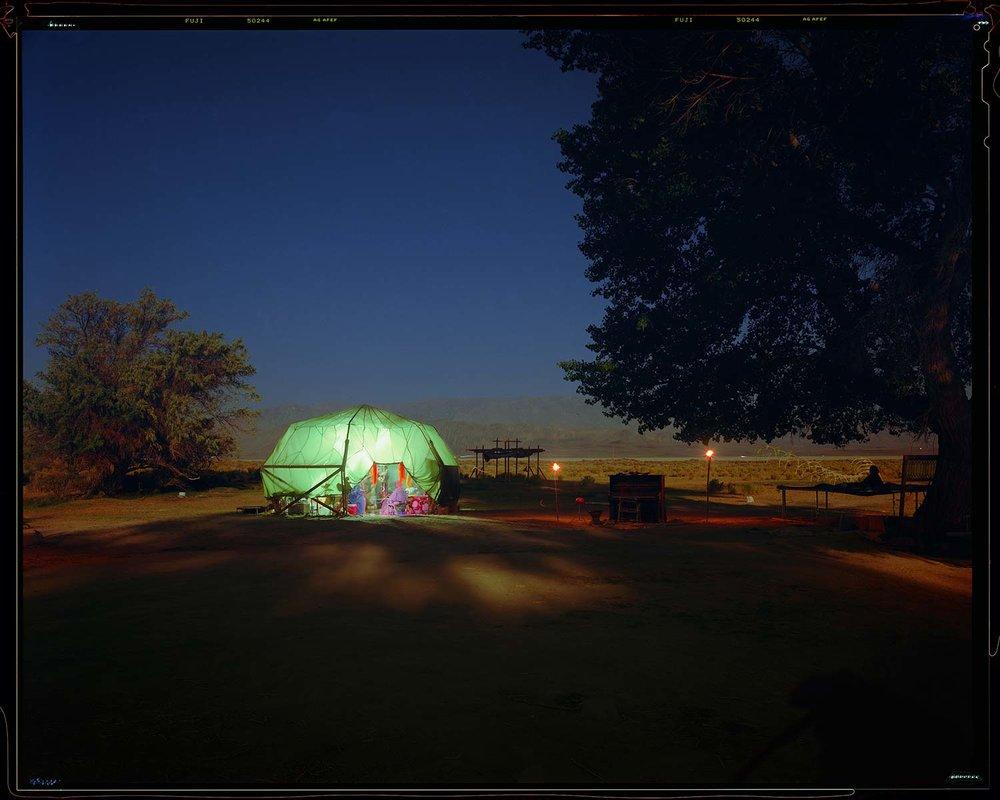 Desert Yurt in Forever Twighlight