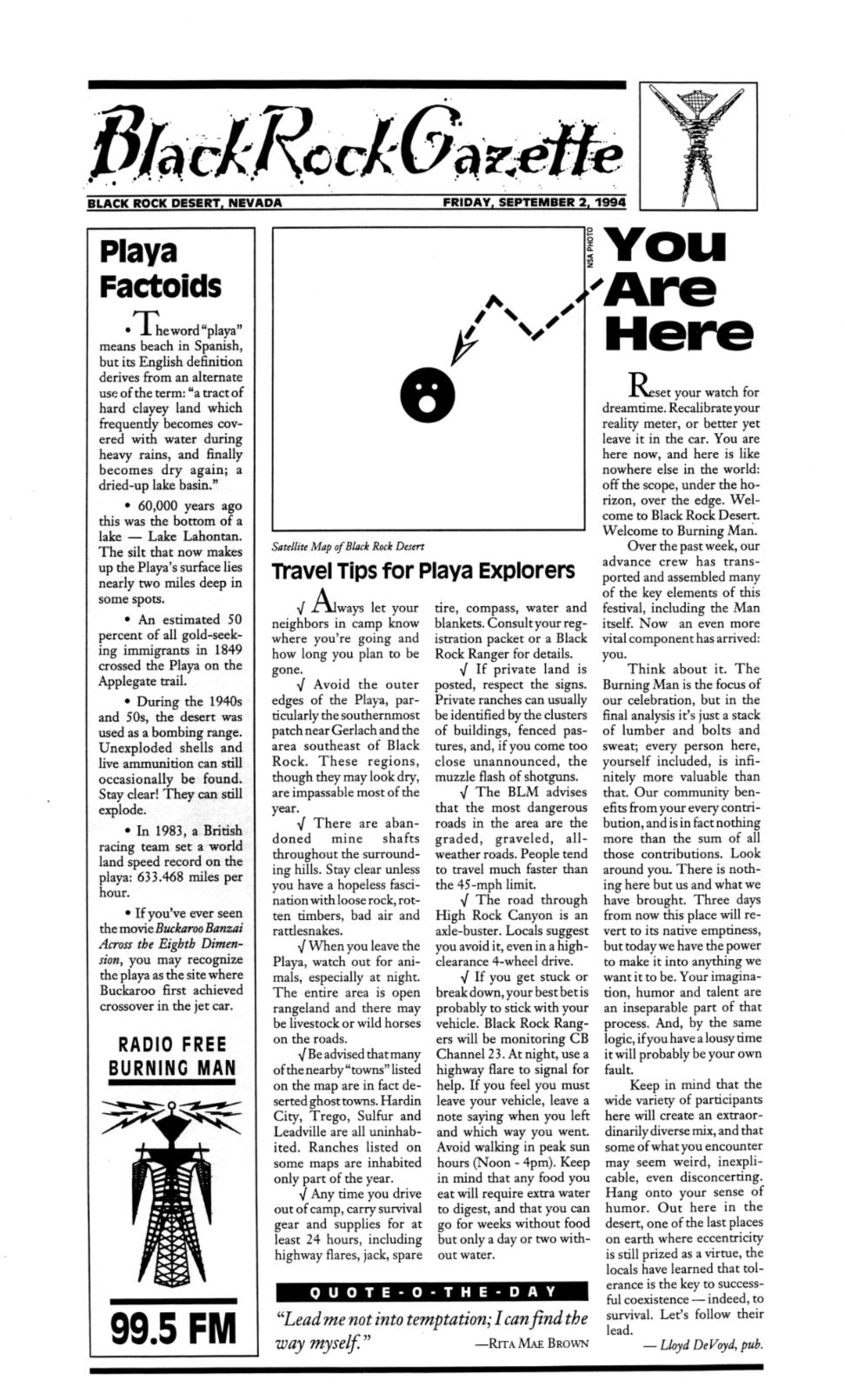 The Black Rock Gazette