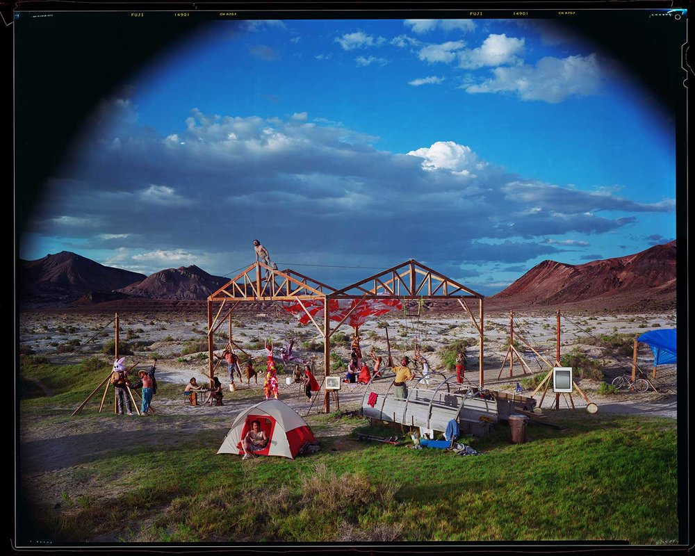 Desert House, 1993 at DSW (later reconstructed at Burning Man)
