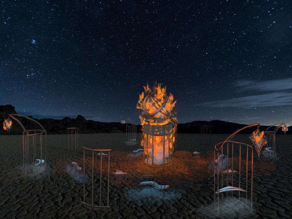 Iron Monkey Arts's The Plaza of Introspection